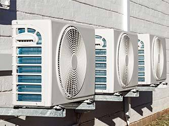 Installed Air Conditioning Units