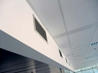 Interior Air Conditioning Ducts