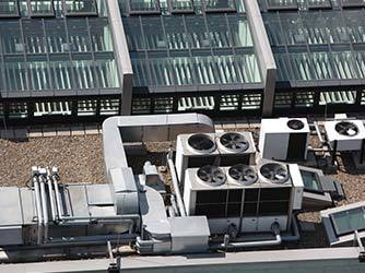 Air Conditioning Units on Roof